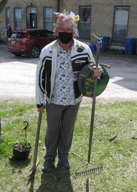 Plant sale customer